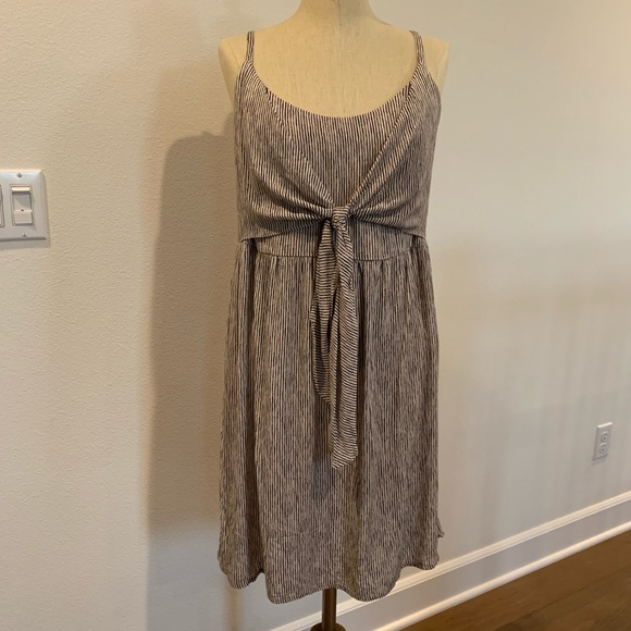 Forever 21 Dresses & Skirts - BNWT Striped Tie-Front Mini Dress